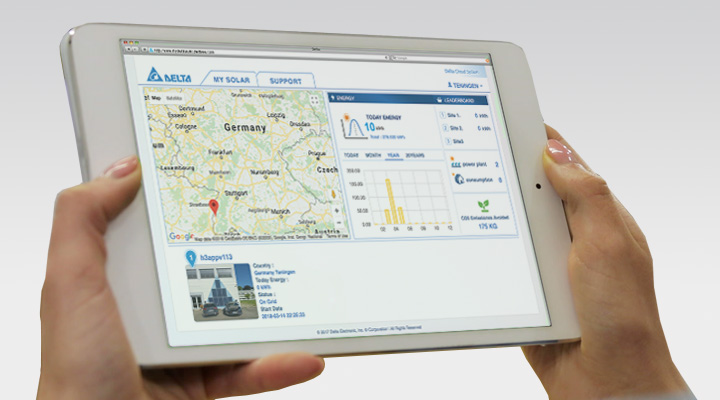 Access your plant data from anywhere anytime