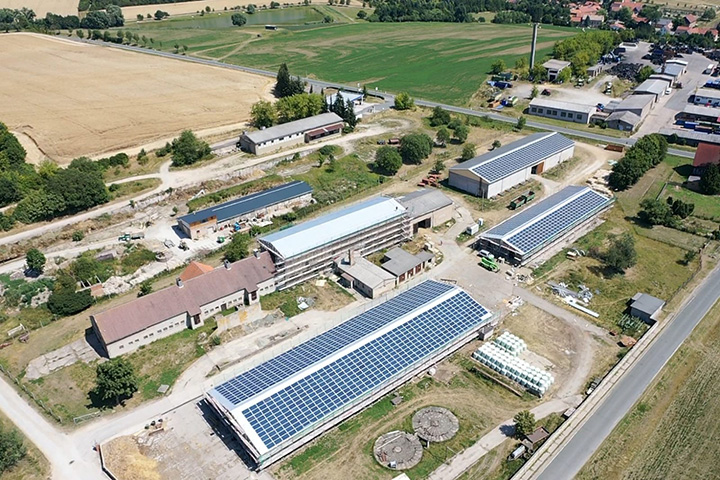 Remda, Germany Reference Project - a 2 MWp commercial PV rooftop project
