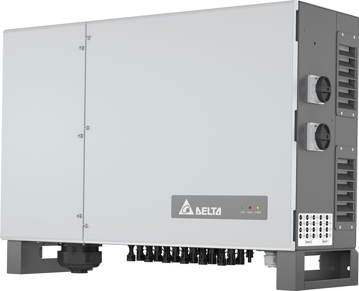New solar inverter M125HV from Delta for large ground-mounted solar PV installations