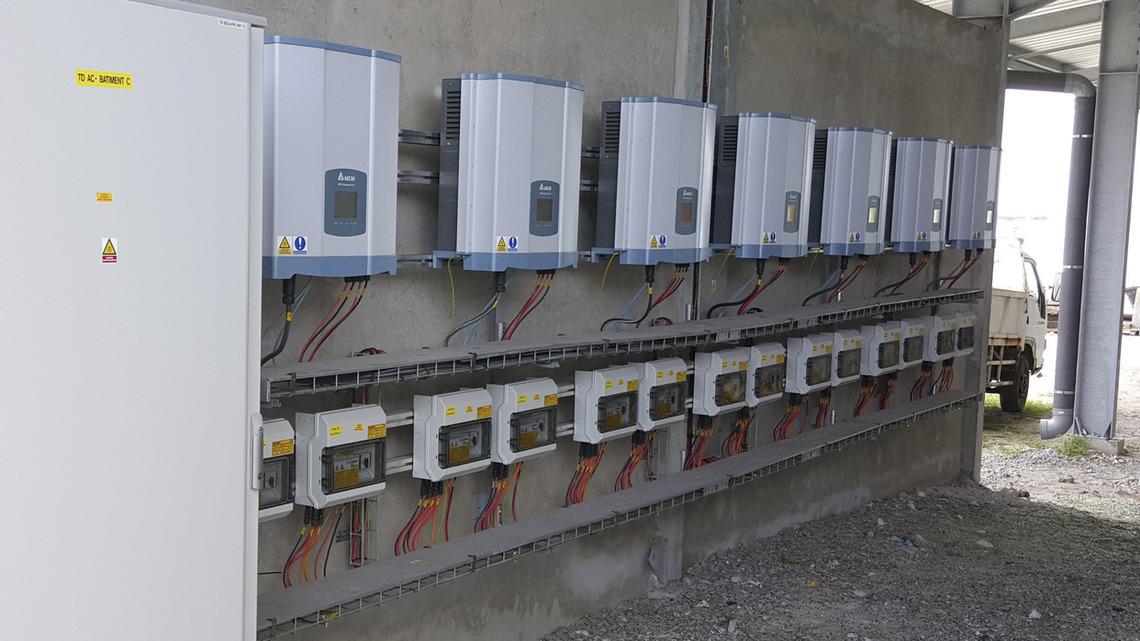 Delta RPI solar inverters at Four Seasons Resort Bora Bora