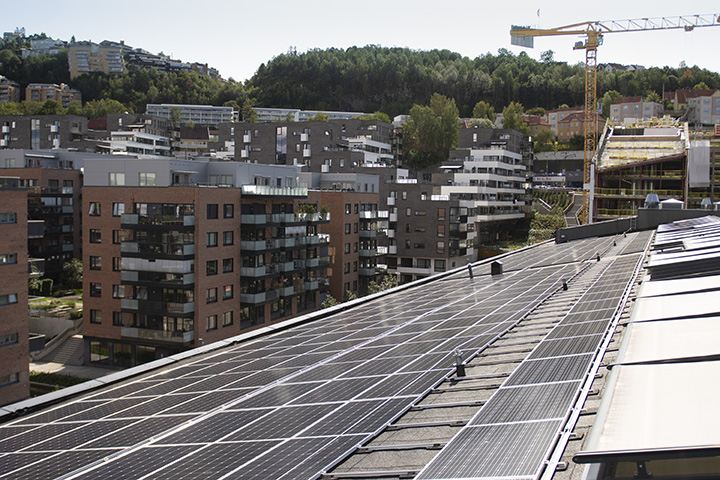 Oslo housing development co-op company invests in rooftop PV project totalling 1.29MW with Delta inverters